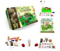 """Безопасный научный набор для выращивания растений """"HOME FLORARIUM"""" укр (5) *"""
