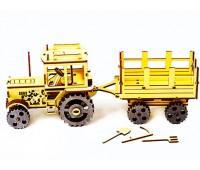 Конструктор-модель Трактор ЮМЗ-6 с прицепом