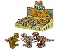 Заводные динозавры (24шт/2) 3 вида, в коробке ((12))