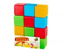 Кубики цветные 12шт.(24)