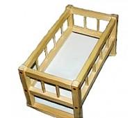 Кровать для кукол 25*45*35см(разобрано) СМЕРЕКА *
