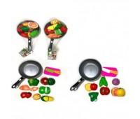 Резка овощей и фруктов 7013C со сковородкой 2в.сетка 30*9,5*18 /96/ *