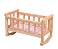 Кроватка для кукол, дерев. (5)