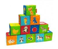 Набор кубиков Животные (12шт)
