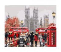 """Городской пейзаж """"Утро в Лондоне"""" 40х50см"""