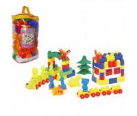 Детский конструктор №11 (121 элементов)