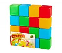 Кубики цветные 16шт.(20)