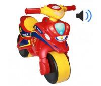 Мотобайк музыкальный Police красный