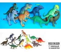 Динозавр Гонконг резин 12в.24шт.в кор.(288)