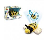 """Ночник """"Пчелка"""" мягкий, со светом, музыкальный, в коробке ZYB-B2753-6 р.30*19,5*20см. *"""