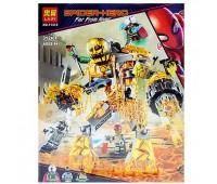 """Конструктор """"SUPER HEROES"""" """"SPIDERMAN: Бой с расплавленным человеком"""" (коробка) 312дет.(18)"""