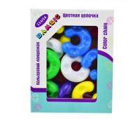 """Игрушка детская """"Разноцветная цепочка № 1 """" """"Bamsic"""", 14 шт коробка"""