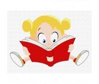 Brushme Девочка с книгой *