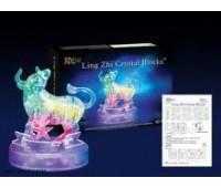 Пазлы 3D- кристалл Зодиак телец  (72/2)