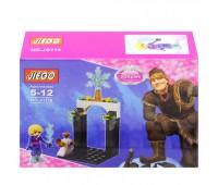 """Конструктор """"Frozen"""" (коробка) 8 видов JG117/118 р.5*5*22 см *"""