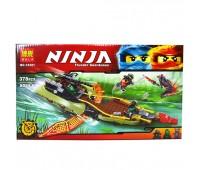 """Конструктор   """"NINJA""""    (коробка  ) 378 дет. 10581 р.38,8*22*5,5см"""