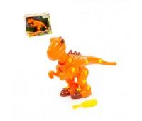 """Конструктор-динозавр """"Тиранозавр"""" ( 40 элементов) (в коробке) *"""