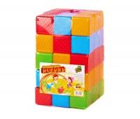 Кубики цветные 45 шт