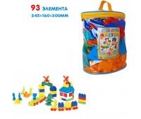 Детский конструктор №5 (93 элемента)