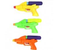 Водный пистолет M100-1 (648шт/2) 3 вида, в пакете 19*11см *