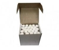 Мелки шестигранные белые 25 шт БОЛ (24)
