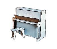 Пианино большое