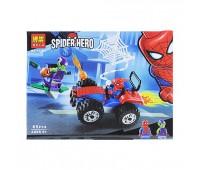 """Конструктор """"Marvel Heroes"""" """"Автомобильная гонка Spiderman"""" (коробка) 65дет."""