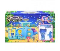 "Фигурки кукол с домиком ""GLIMMIES""  (озвуч со свет. эффект.) р.30*6,5*18,,5 см"