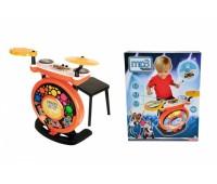 """Simba. Музыкальный инструмент """"Барабанная установка"""" с разьемом для МР3 плеєра. 6831198"""