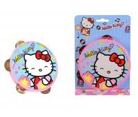 """Simba. Музыкальный инструмент """"Бубен Hello Kitty"""". 6835488"""