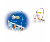Smoby. Bao. Cotoons. Музыкальный мобиль Cotoons со световыми и звуковыми эффектами. 211338