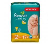 4015400647515. PAMPERS Детские подгузники New Baby-Dry Mini 2 (3-6 кг) Микро Упаковка 17