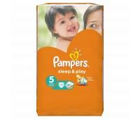 4015400147749. PAMPERS Детские подгузники Sleep & Play Junior 5 (11-18 кг) Стандарт 11