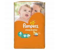 4015400166658. PAMPERS Детские подгузники Sleep & Play Maxi 4 (7-14 кг) Стандарт 14шт