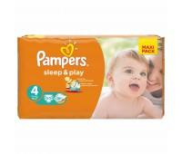 4015400224242. PAMPERS Детские подгузники Sleep & Play Maxi 4 (7-14 кг) Економ 50
