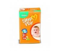 4015400122838. PAMPERS Детские подгузники Sleep & Play Midi 3 (4-9 кг) Стандарт 16