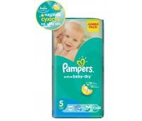 4015400264811. PAMPERS Детские подгузники Active Baby-Dry Junior 5 (11-18 кг) Джамбо упаковка 58