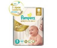 4015400507499. PAMPERS Детские подгузники Prem. Care Midi 3 (4-9 кг) Джамбо упаковка 80