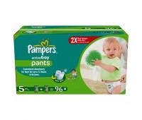 4015400523352. PAMPERS Детские подгузники Active Boy Junior 5 (12-18 кг) Мега упаковка 96