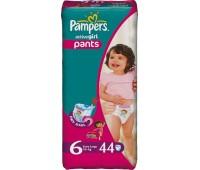 4015400255840. PAMPERS Детские подгузники Active Girl Extra Large 6 (16+ кг) Джамбо 44