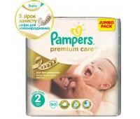 4015400521075. PAMPERS Детские подгузники Prem. Care Mini 2 (3-6 кг) Джамбо упаковка 90