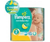 4015400537397. PAMPERS Детские подгузникиNew Baby-Dry Mini 2 (3-6 кг) СтандартУпак 27