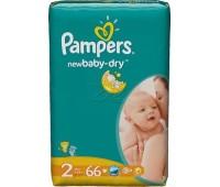 4015400735571. PAMPERS Детские подгузники New Baby-Dry Mini 2 (3-6 кг) Экономичная упаковка 68