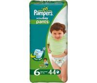 4015400255819. PAMPERS Детские подгузники Active Boy Extra Large 6 (16+ кг) Джамбо 44