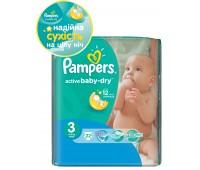 4015600001674. PAMPERS Детские подгузники Active Baby-Dry Midi 3 (4-9 кг) СтандартУпак 22