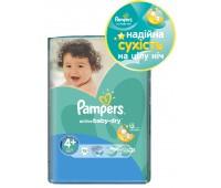 4015600002886. PAMPERS Детские подгузники Active Baby-Dry Maxi Plus 4+ (9-16 кг) СтандартУпак 18