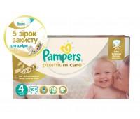 4015400465447. PAMPERS Детские подгузники Prem. Care Maxi 4 (7-14 кг) Мега-серия Упаковка 104