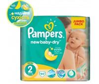 4015400264613. PAMPERS Детские подгузникиNew Baby-Dry Mini 2 (3-6 кг) Джамбо упаковка 94