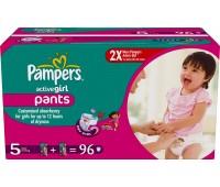 4015400523369. PAMPERS Детские подгузники Active Girl Junior 5 (12-18 кг) Мега упаковка 96