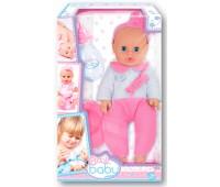 32000 Пупс Плей Беби, 32 см, с бутылочкой и горшком, в розовом комбинезоне, Play Baby